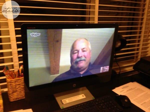 dad skype