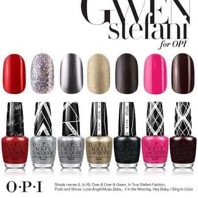Gwen Stefani by OPI Giveaway