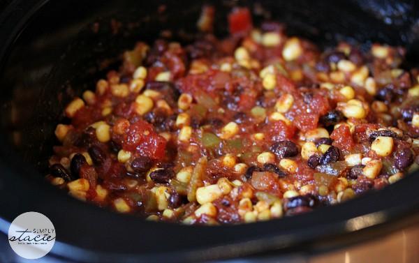 Slow Cooker Salsa Chicken - Tender juicy chicken breasts slow cooked in a spicy salsa sauce!