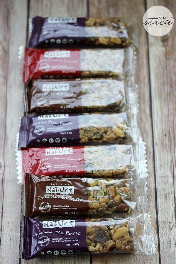 Taste of Nature Pledge to Snack Healthy