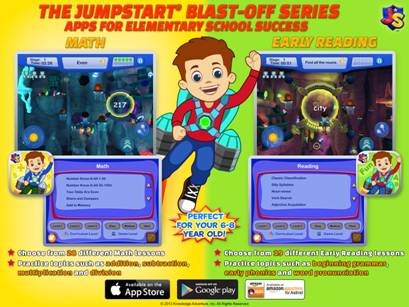 JumpStart Blast-Off Learning Series Apps Review