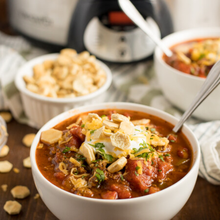 Presidential Chili - Made with a secret ingredient to take this mouthwatering comfort food to a whole new level of deliciousness!