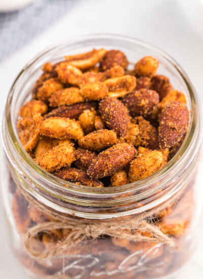 Southwestern Party Nuts Recipe - A dash of spice and hint of sweetness make for an addicting treat!