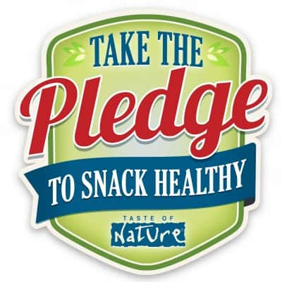 Take the Taste of Nature Pledge to Snack Healthy