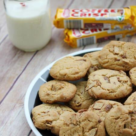 Coffee Crisp Cookies
