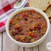 Presidential Chili Recipe