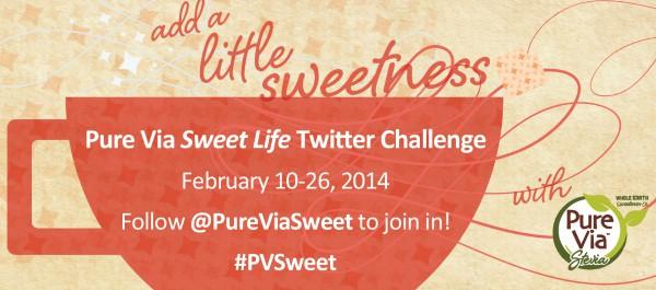Pure Via Sweet Life Twitter Challenge #PVSweet