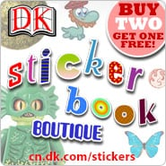 DK Canada Sticker Book Boutique
