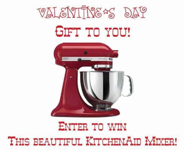 Win a KitchenAid Mixer