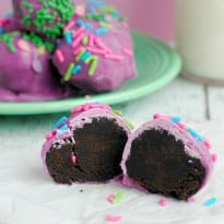 Purple Oreo Truffles