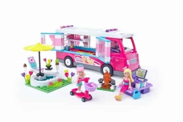 Mega Bloks Barbie Build 'n Play Luxe Camper Giveaway #BarbieCamper