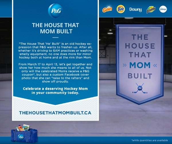 P&G Hockey Mom Survival Kit Giveaway