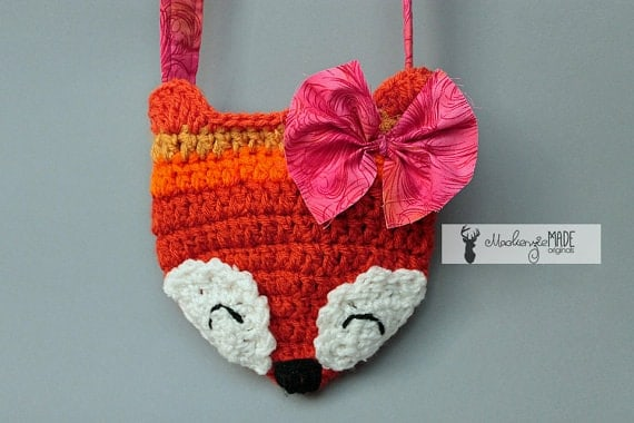 Fox Crossbody Hip Bag