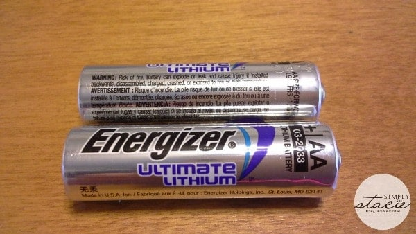 energizer ultimate lithium aa batteries review giveaway. Black Bedroom Furniture Sets. Home Design Ideas