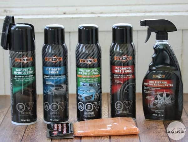 emzone Automotive Care Spring Cleaning Giveaway