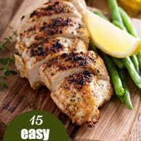 15 Easy Grilled Chicken Recipes