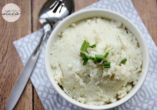 how to make cauliflower mashed potatoes vegan