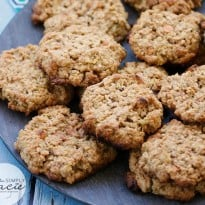 Pineapple Oatmeal Scotchies