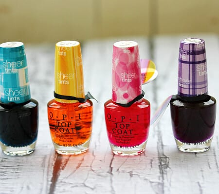 Sheer Tints by OPI Review