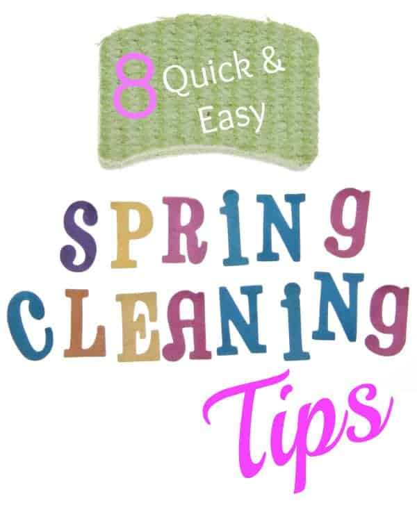 8 Quick & Easy Spring Cleaning Tips