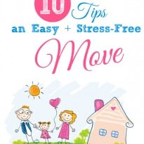 10 Tips for an Easy + Stress-Free Move