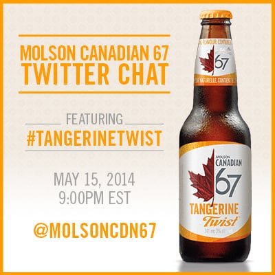 Join the #TangerineTwist Twitter Chat Kick Off!