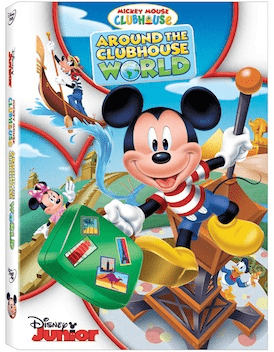Mickey Mouse Clubhouse: Around the Clubhouse World DVD Review