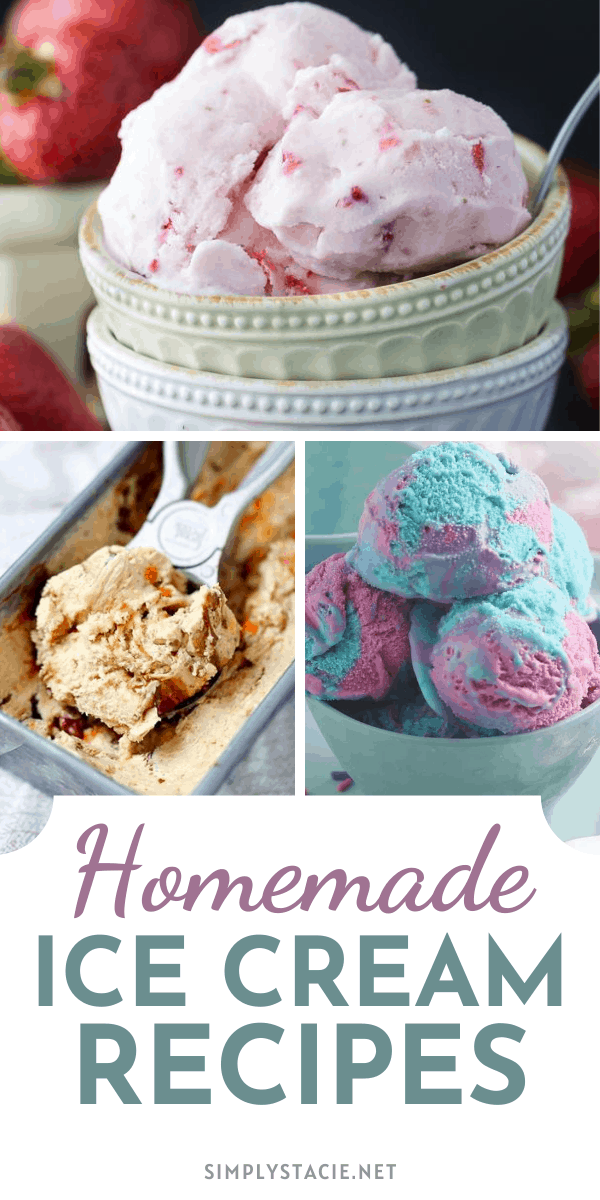 Homemade Ice Cream Recipes - Try your hand at these delicious homemade ice cream recipes. Sweet, creamy and cold in a variety of different flavors to enjoy!