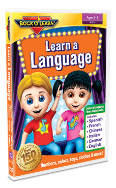 "Rock 'N Learn ""Learn a Language"" DVD Review"