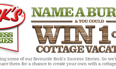 Win a Cottage Vacation