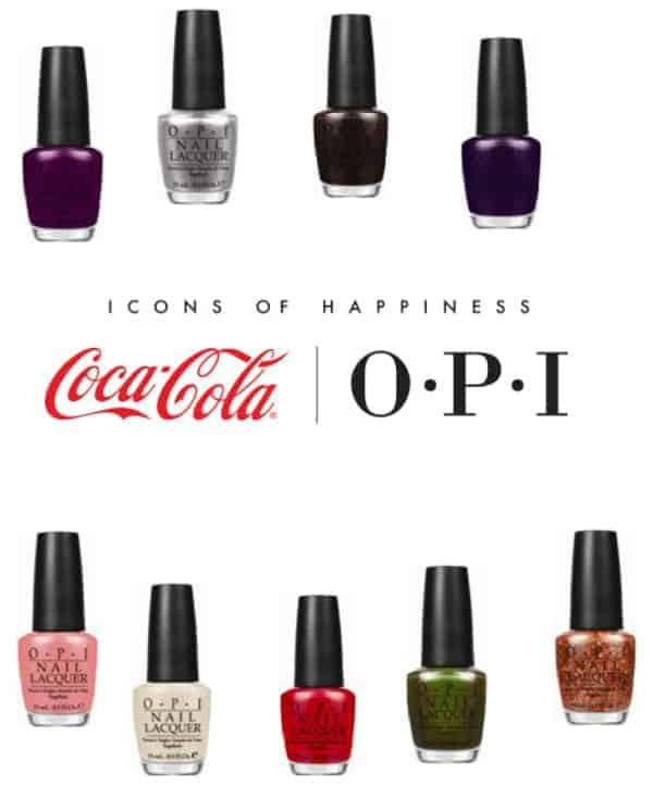 Coca Cola by OPI Giveaway