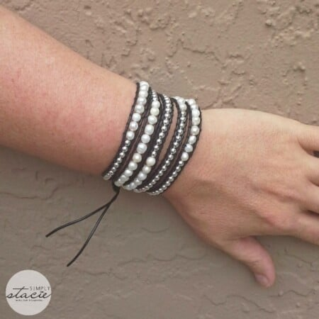 Freshwater Pearls Beaded Leather Wrap Bracelet Review