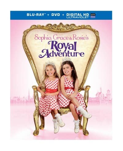 Sophia Grace & Rosie's Royal Adventure Blu-ray + DVD Review