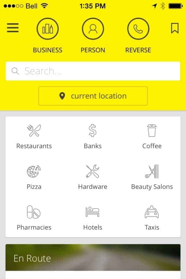 Discover Your Neighbourhood with the New Yellow Pages App