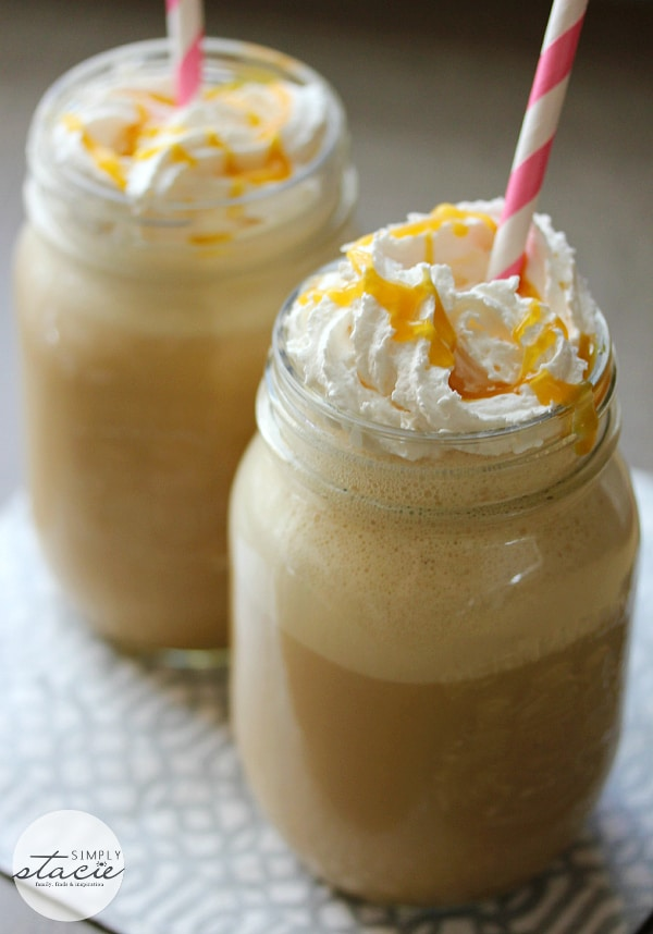 Caramel Coffee Milkshake - Satisfy your sweet tooth + get your caffeine fix! This milkshake is so yummy.