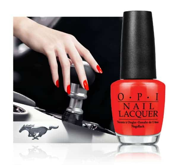 Ford Mustang by OPI Giveaway