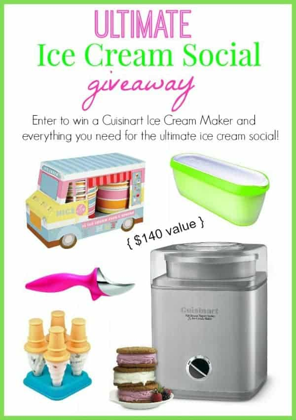 ultimate ice cream giveaway