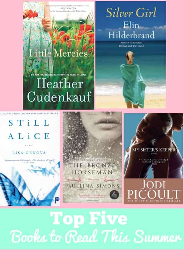 Top Five Books to Read This Summer
