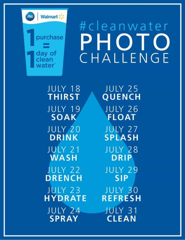 #cleanwater Photo Challenge