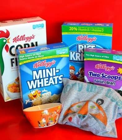 Kellogg's Cereal & Milk Giveaway