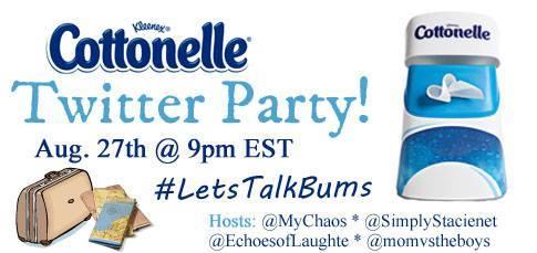 #LetsTalkBums Twitter Party