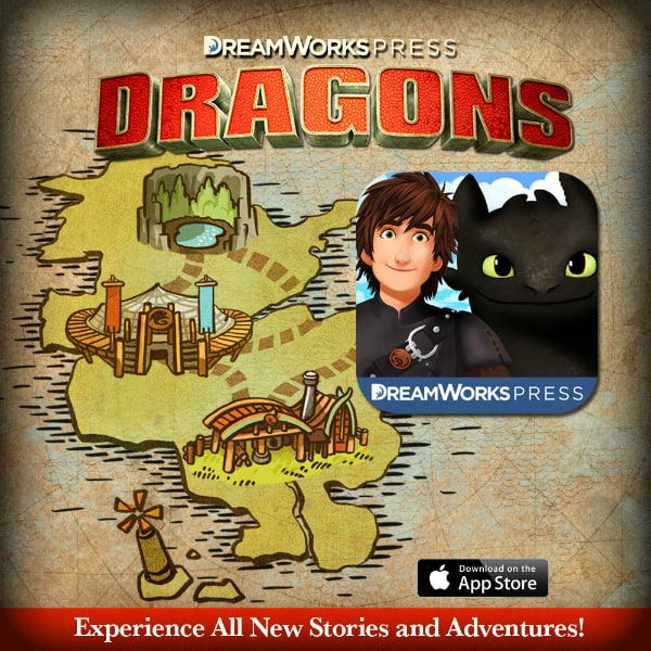 DreamWorks Press: Dragons App for Kids