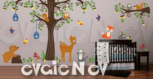 evgie Wall Decals Giveaway