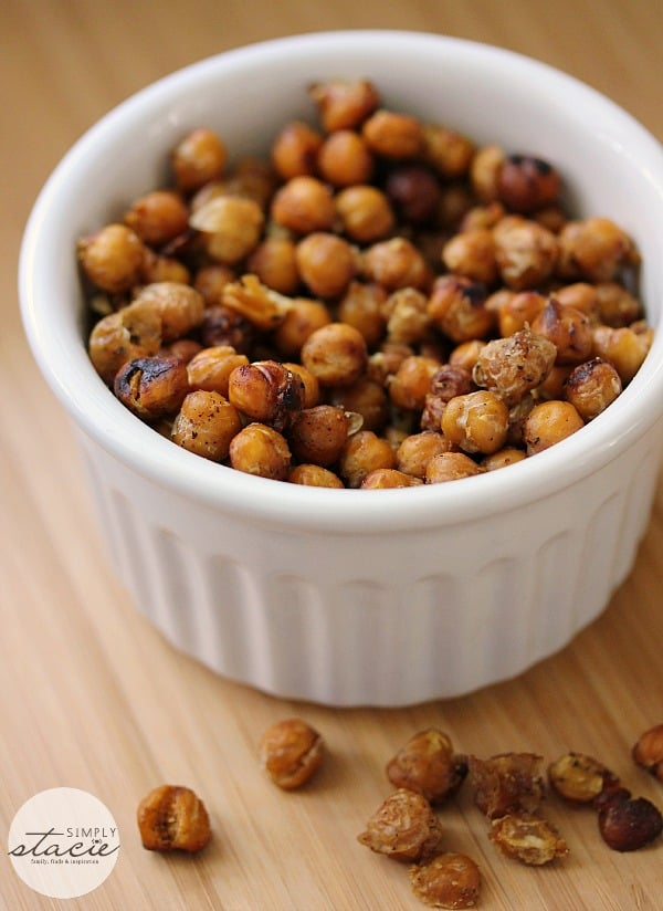 Fiesta Roasted Chickpeas