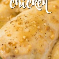 Honey Garlic Chicken - a delicious and easy way to dress up plain ol' chicken breasts!