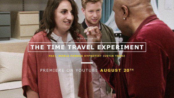 IKEA Experiment with Time Travel #IKEAtimetravel