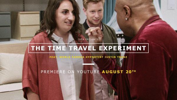 IKEA Experiment with Time Travel #IKEAtimetravel