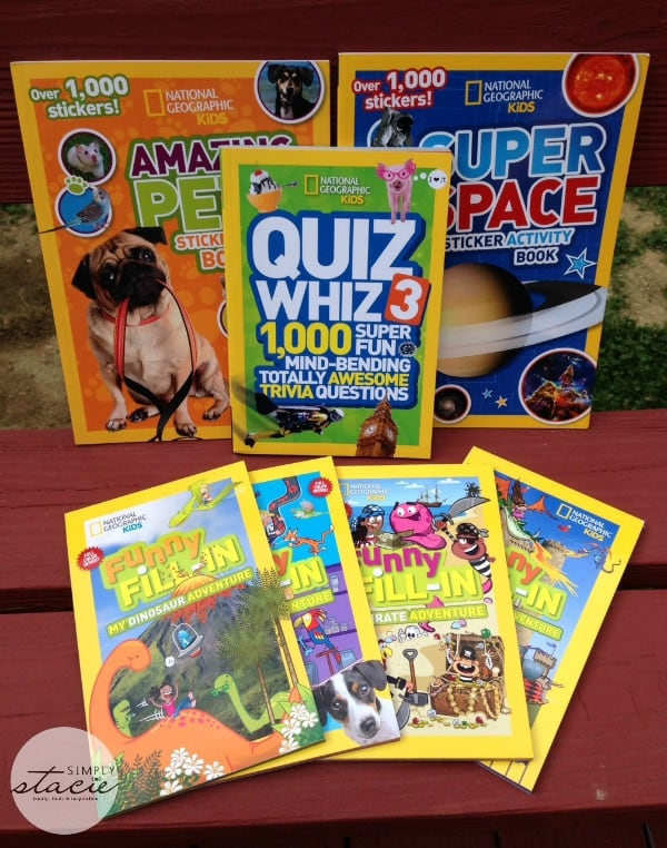 Boredom Busters from National Geographic Kids