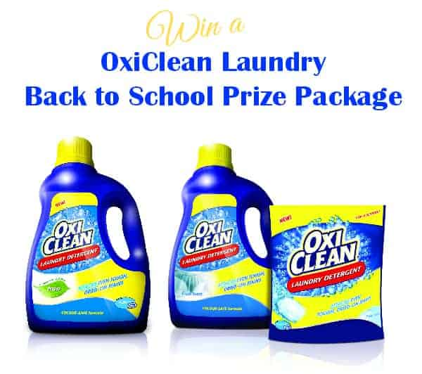 Back to School with OxiClean
