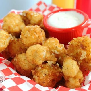 Cauliflower Bites